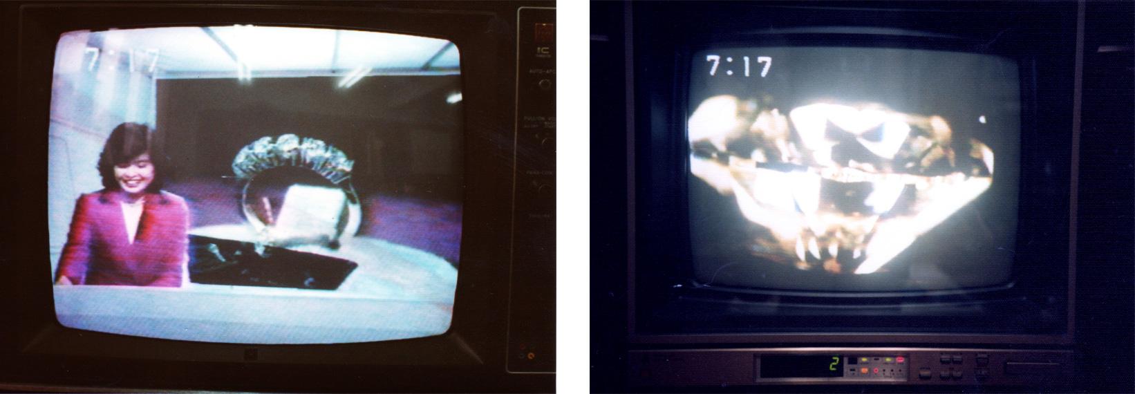 1975年ラザールダイヤモンドを日本で初めて輸入されNHKのニュースで放送されたときの写真