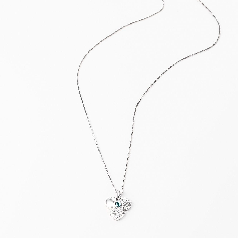 パライバトルマリンとダイヤモンドのペンダント 02