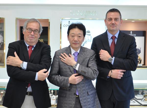 コルム Mr Marco Mascis氏、Mr Jean-Michel Bonjour 氏
