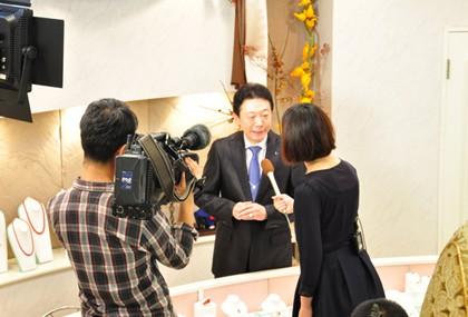 NHK ニュースウォッチ9 インタビュー