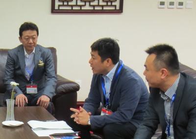 ジュエリーの上海経済特区構想についてジュエリー分野の意見交換