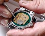 腕時計メニュー項目の画像:電池交換