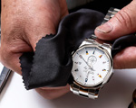 腕時計メニュー項目の画像:時計の清掃・クリーニング