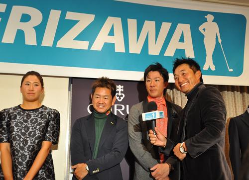SERIZAWAカップ 記念写真 お立ち台にて