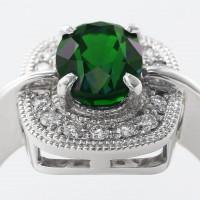カラーチェンジガーネットとダイヤモンドのリング 03