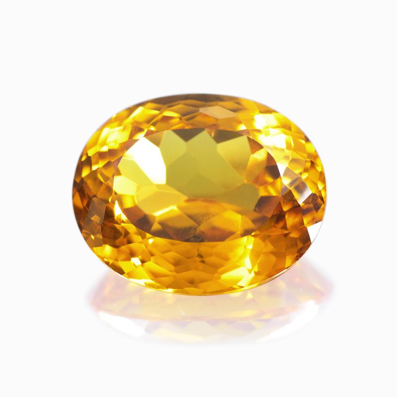 トップジェムクオリティ-シトリン-ハナジマの宝石