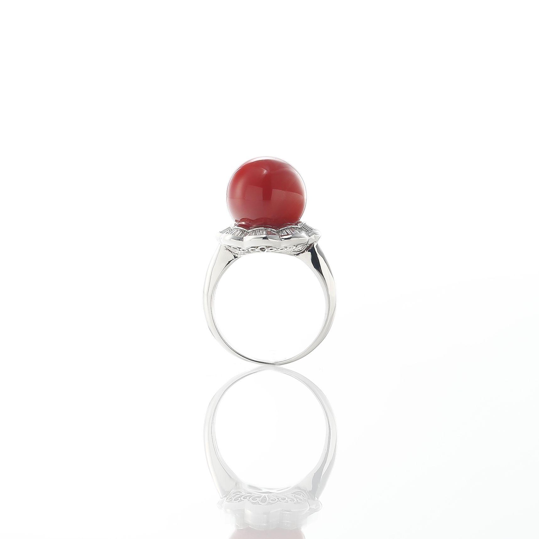 血赤珊瑚のリング 02