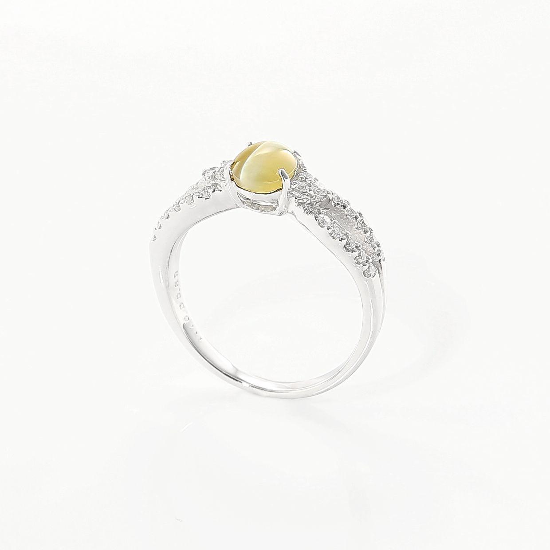 キャッツアイのダイヤモンドリング 02