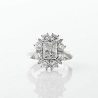 プリンセスカットダイヤモンド01