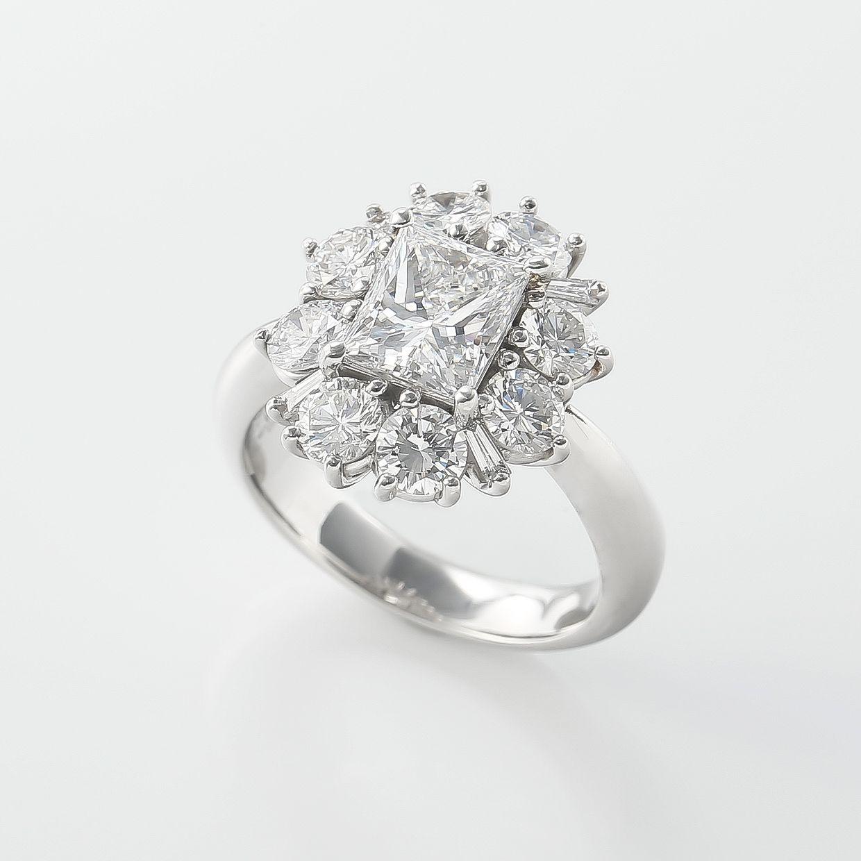 プリンセスカットダイヤモンド02