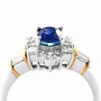 サファイアとダイヤモンドのリング03