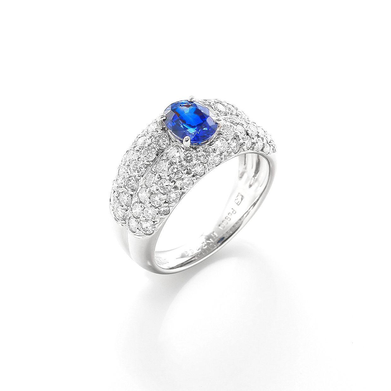 サファイヤとダイヤモンドのリング02