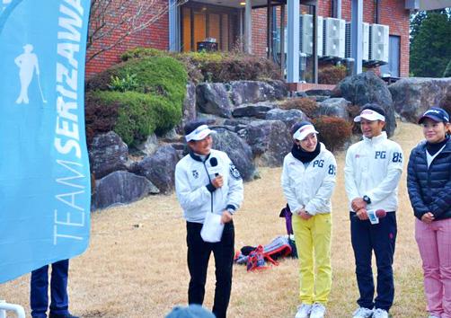 チームSERIZAWA主催、コルム協賛のSERIZAWAカップ2016における芹沢プロの挨拶