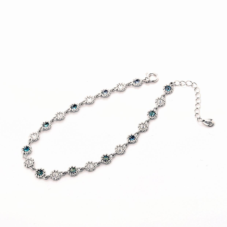 アレキサンドライトとダイヤモンドのブレスレット01