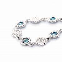アレキサンドライトとダイヤモンドのブレスレット02