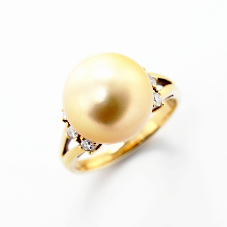ゴールデンパールのリング01