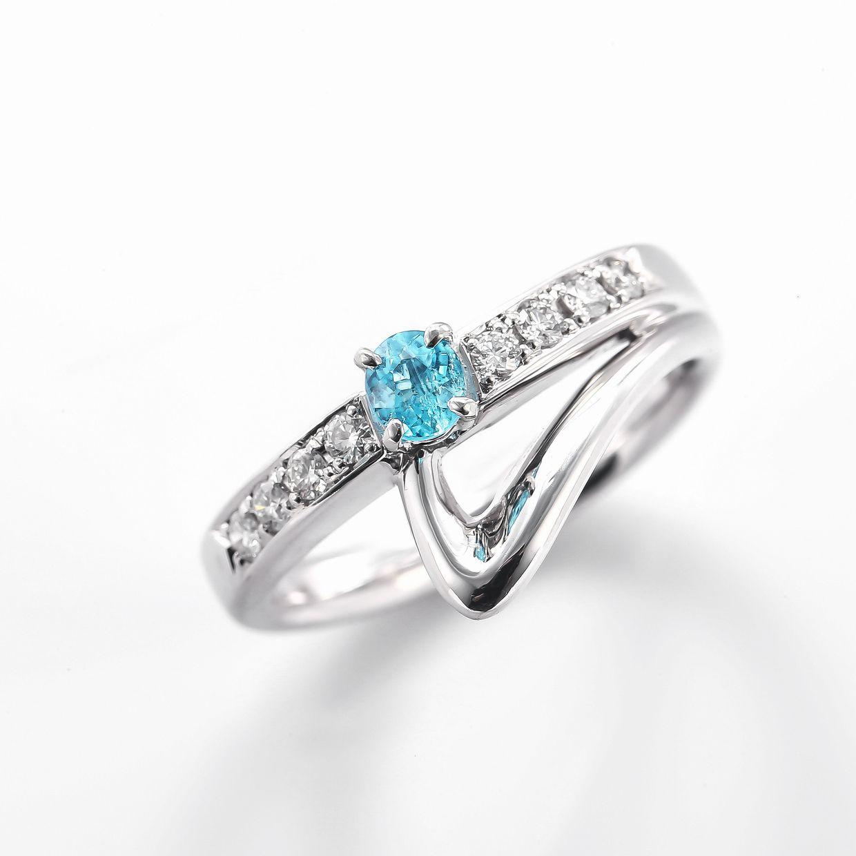 パライバとダイヤモンドのリング01