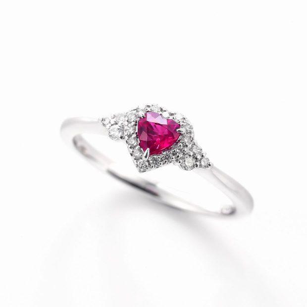 ルビーとダイヤモンドのリング04