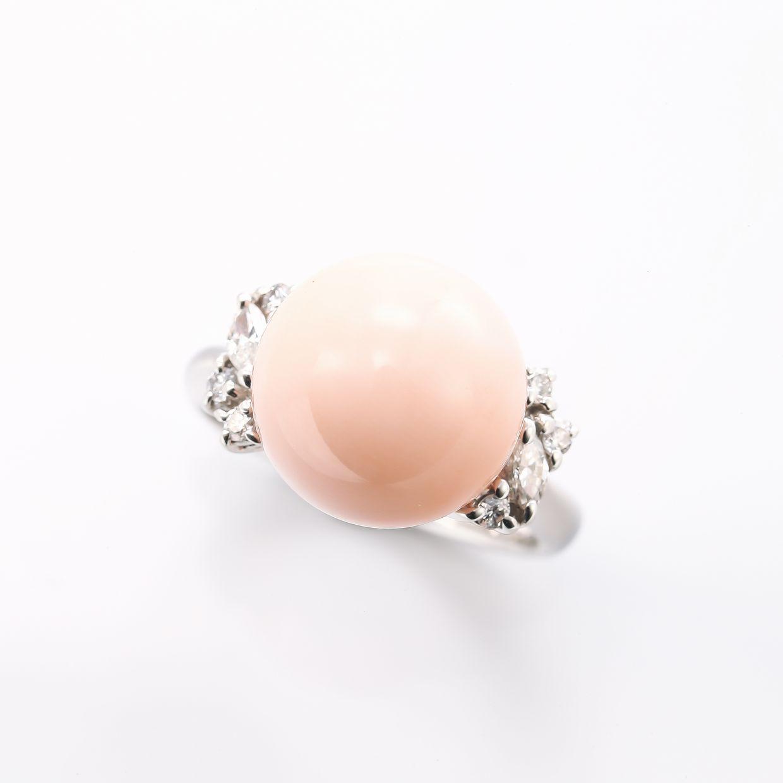 サンゴ(珊瑚)のリング 01