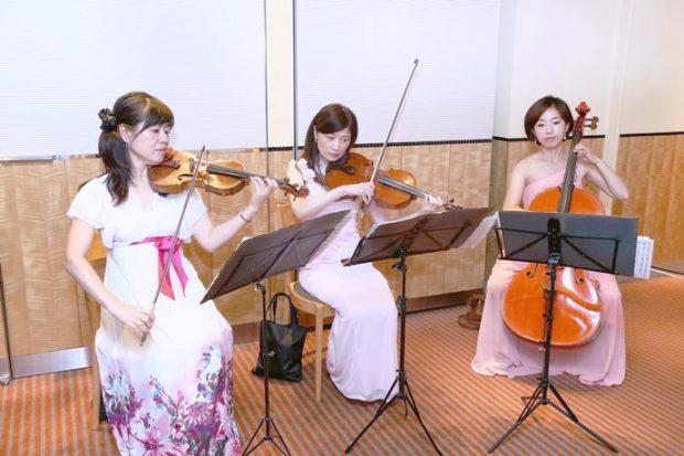 ハナジマ60周年感謝の夕べ余興演奏