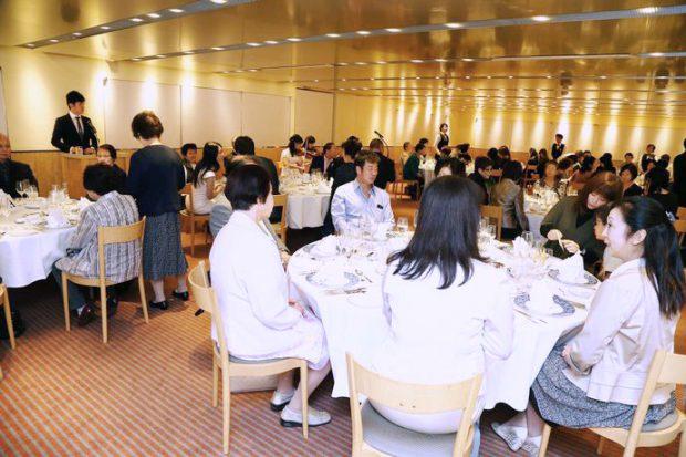 ハナジマ60周年感謝の夕べ参加者