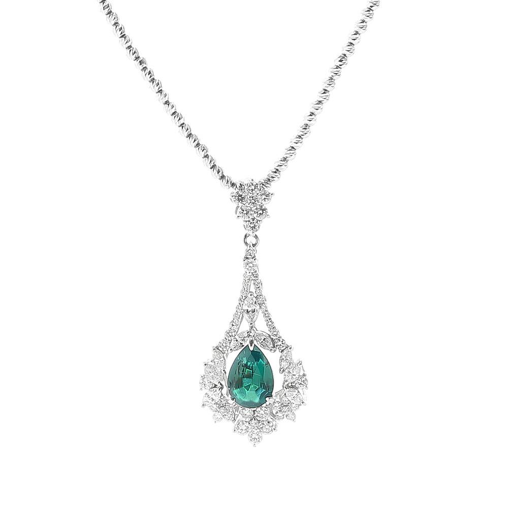 アレキサンドライトダイヤモンドネックレス 商品番号205