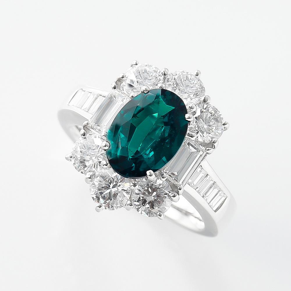 アレキサンドライトダイヤモンドリング 商品番号378