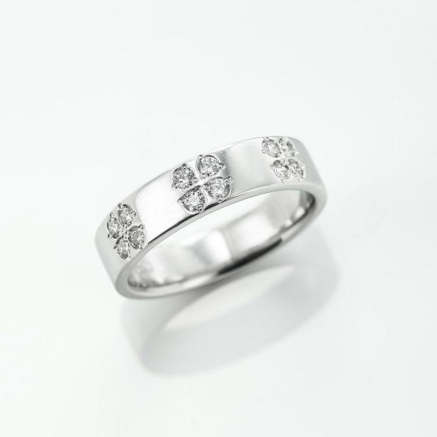 メレーダイヤのプラチナリング4