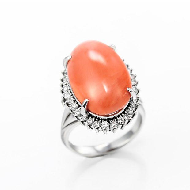 サンゴ(珊瑚)のリング 04