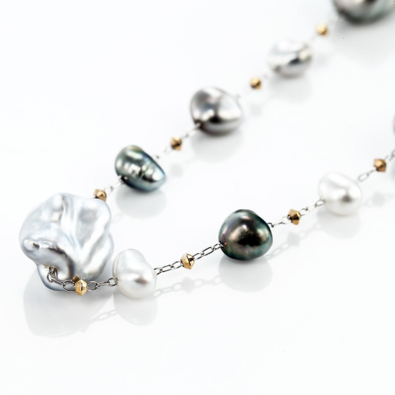 ケシパール(真珠)のネックレス 01