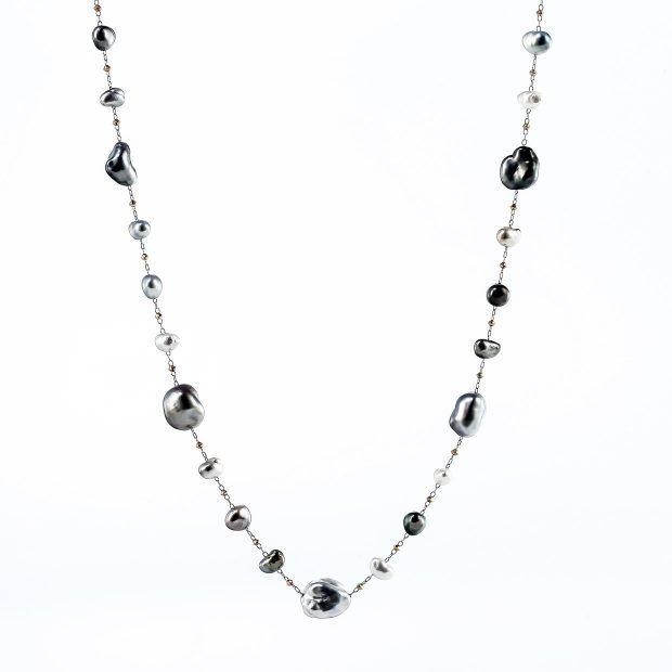 ケシパール(真珠)のネックレス 04