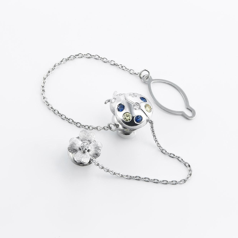 サファイアとイエローダイヤモンドのリング 01