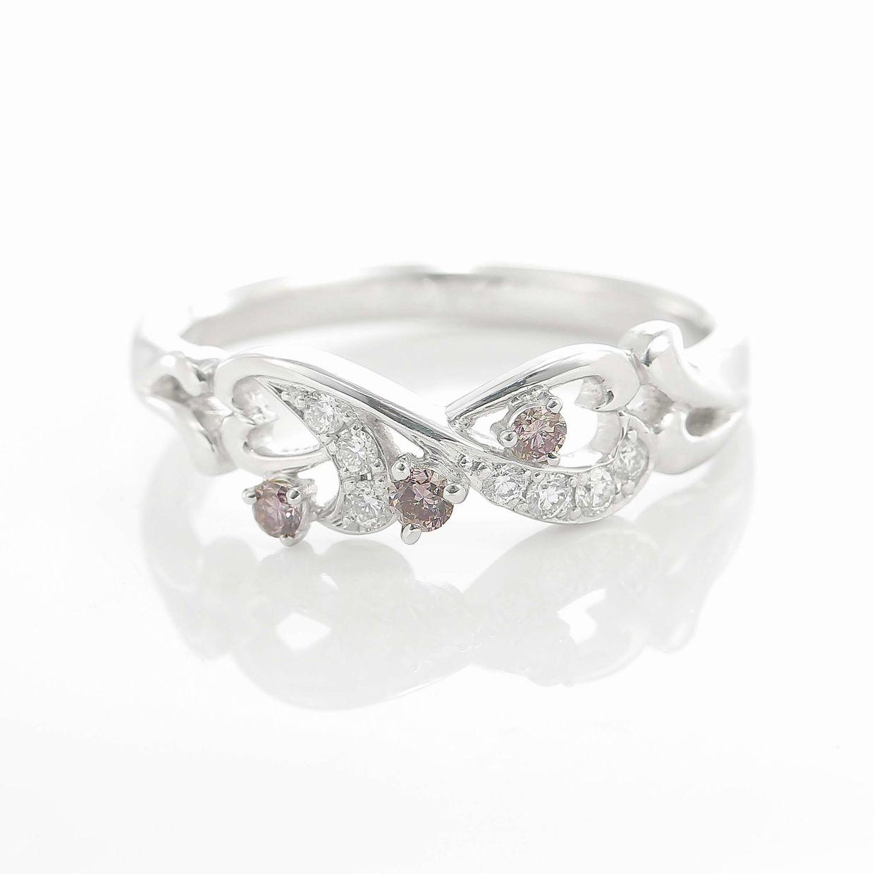 ピンクダイヤモンドのリング 02