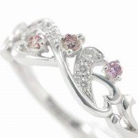 ピンクダイヤモンドのリング 03