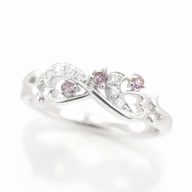 ピンクダイヤモンドのリング 04