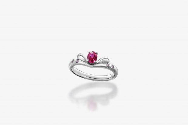 ルビーを使った婚約指輪